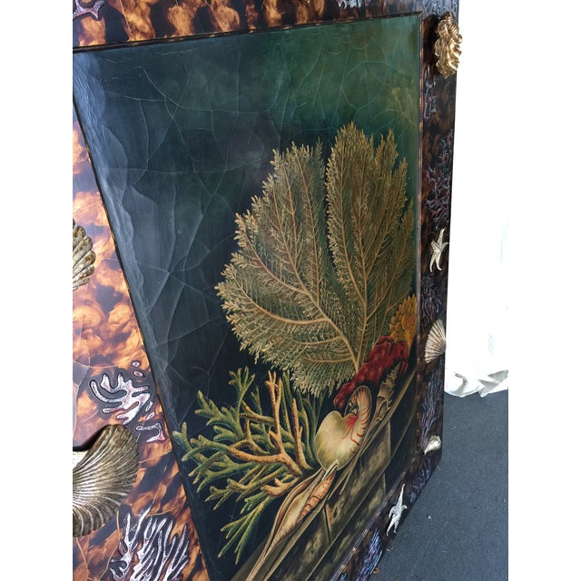 Trompe L'oiel Painting of Underwater Scene For Sale - Image 10 of 11