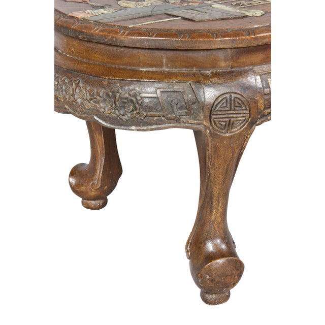 Chinese Chinese Hardstone Mounted Coffee Table For Sale - Image 3 of 13