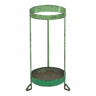 Early 20th-Century French Metal Umbrella Stand
