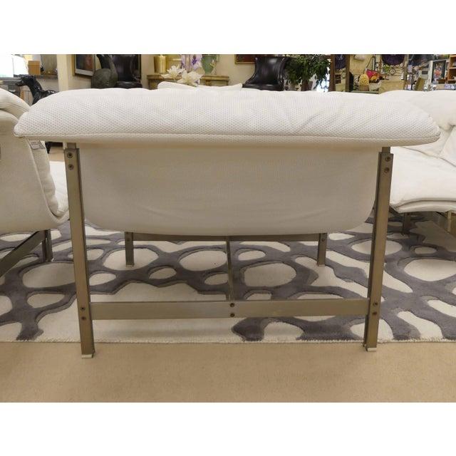 Saporiti Saporiti Italia Wave Lounge Chair, Designed by Giovanni Offredi - 3 Available For Sale - Image 4 of 12