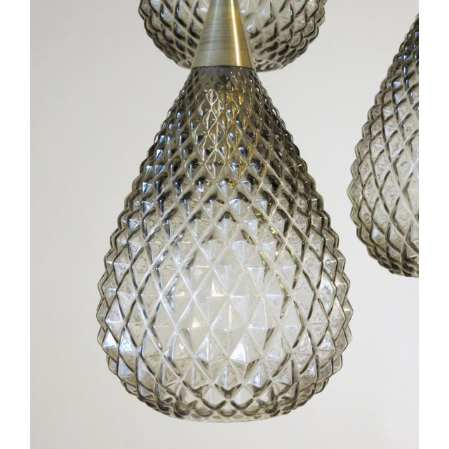 Contemporary Flushed Drop Pendants by Fabio Ltd For Sale - Image 3 of 8