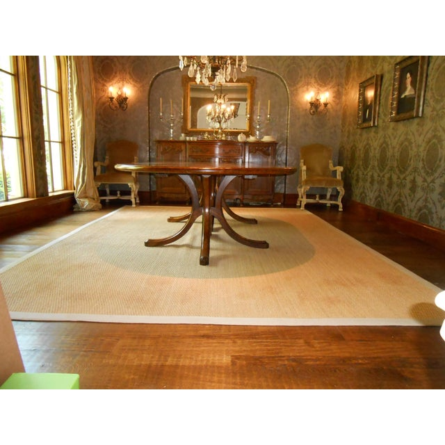 Traditional Batavia Pedestal Base Dining Table For Sale - Image 3 of 11