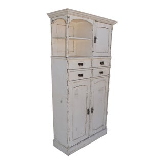 Painted Pine Compactum Wardrobe For Sale