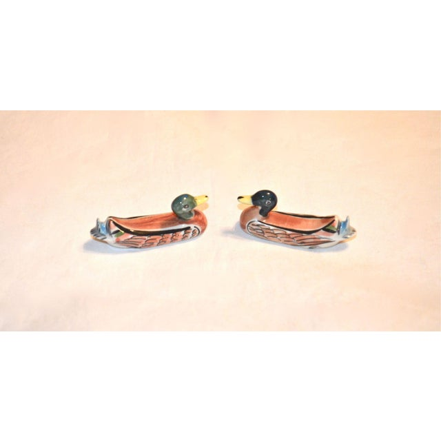 Porcelain Duck Knife Rests - A Pair For Sale - Image 6 of 8