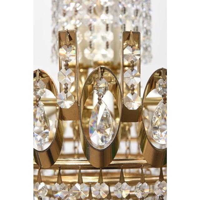 Vintage strass crystal chandelier image 3 of 4