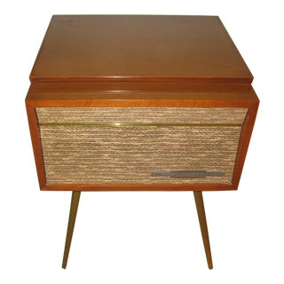 Midcentury Rca Victor Stereo-Orthophonic Hi Fi Phonograph For Sale