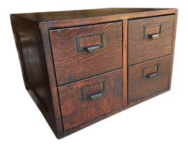Image of Oak Filing Cabinets