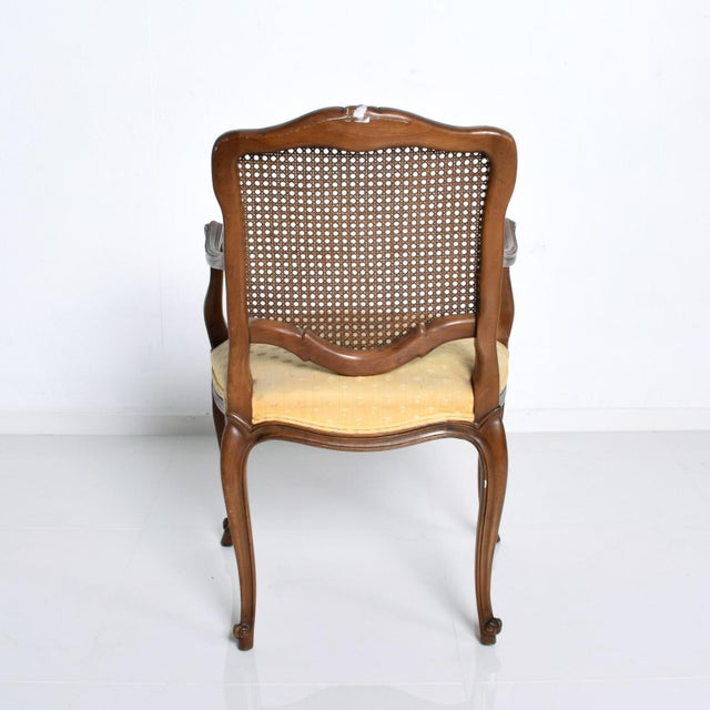 Gold Hollywood Regency Arm Chairs by Kindel - a Pair For Sale - Image 8 of 11