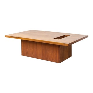 Mid Century John Keal for Brown Saltman Coffee Table For Sale