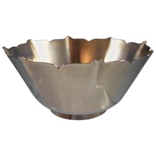 Esprit by Gorham Sterling Silver Bowl #1429 Hollowware Sku #2014 For Sale