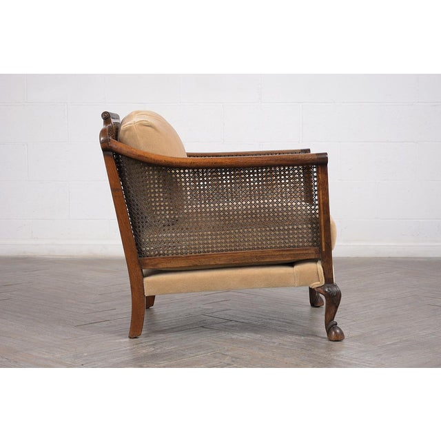 Set of French 19th Century Traditional Louis XIV Bergere For Sale In Los Angeles - Image 6 of 8