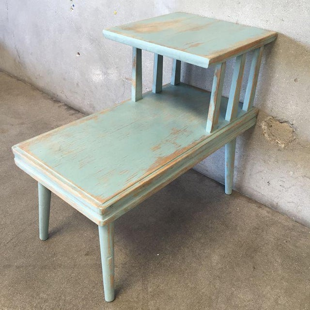 Upcycled Mid Century Side Table - Image 5 of 7