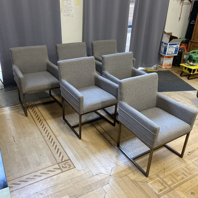 Contemporary Universal Furniture Cooper Chairs - Set of Six For Sale - Image 3 of 13