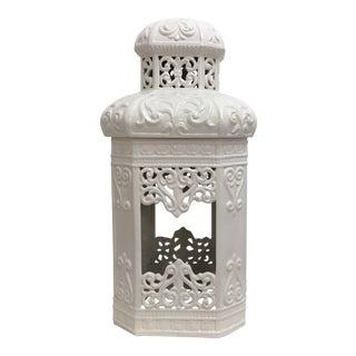 Italian Ceramic Pagoda Lantern