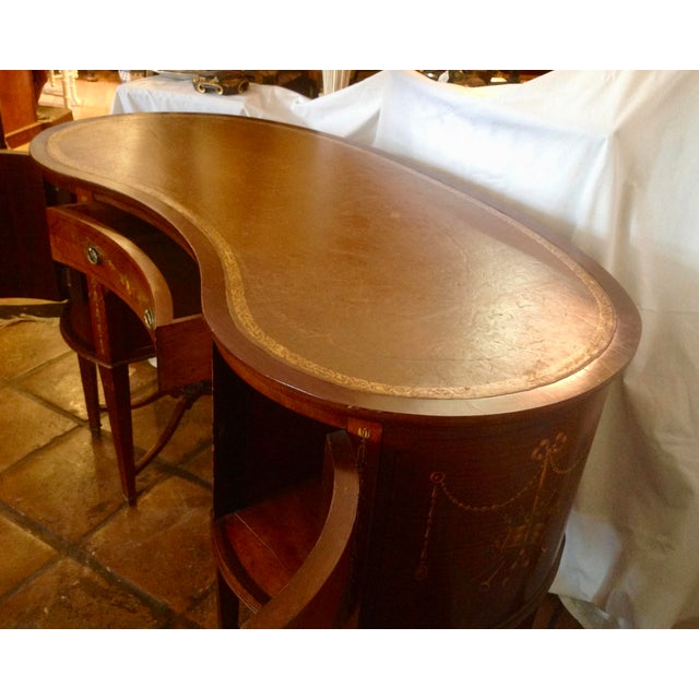 Late 19th Century 19th Century English Adam Style Vanity For Sale - Image 5 of 13