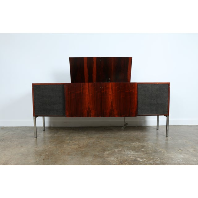 1970s Rosewood Record Cabinet - Image 2 of 11
