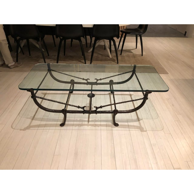Giacometti Wrought Iron Coffee Table - Image 3 of 3