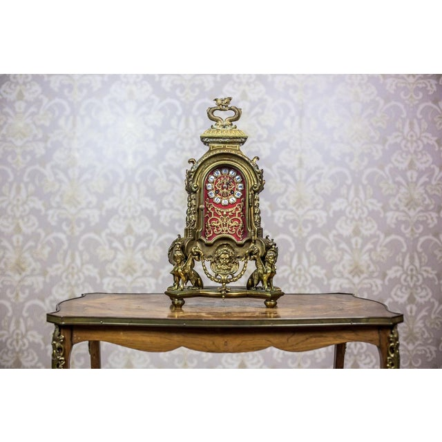 French Mantel Clock, circa 19th Century For Sale - Image 10 of 11