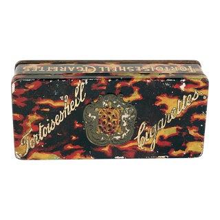 1920s Tortoiseshell Cigarette Tin For Sale