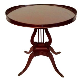 Duncan Phyfe Mersman Music Side Table For Sale