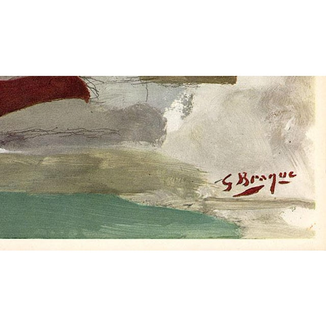 """Georges Braque """"The Spirited Dove"""" by Georges Braque, Original Lithograph From """"Verve No. 31-32"""" (1955) For Sale - Image 4 of 5"""