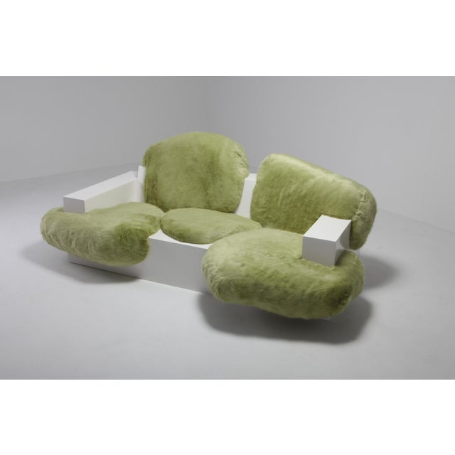 Contemporary Pillow Couch by Schimmel & Schweikle From the CrossFit Collection For Sale - Image 3 of 9