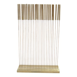 Limited Edition Signed Harry Bertoia Table Tonal II Sculpture For Sale