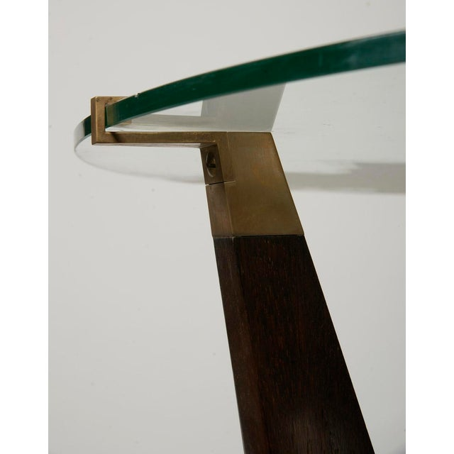 Mid-Century Modern French 1950 Guéridon or Side Table For Sale - Image 3 of 6