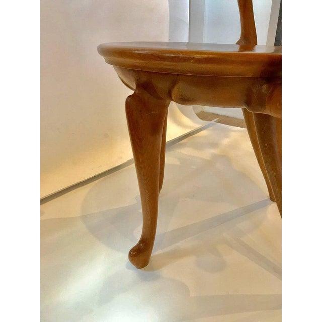 Calvet Armchair by Antoni Gaudi For Sale - Image 4 of 8