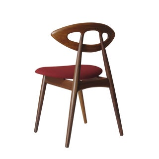 "12 Ejvind A. Johansson Dining ""Eye"" Chairs"