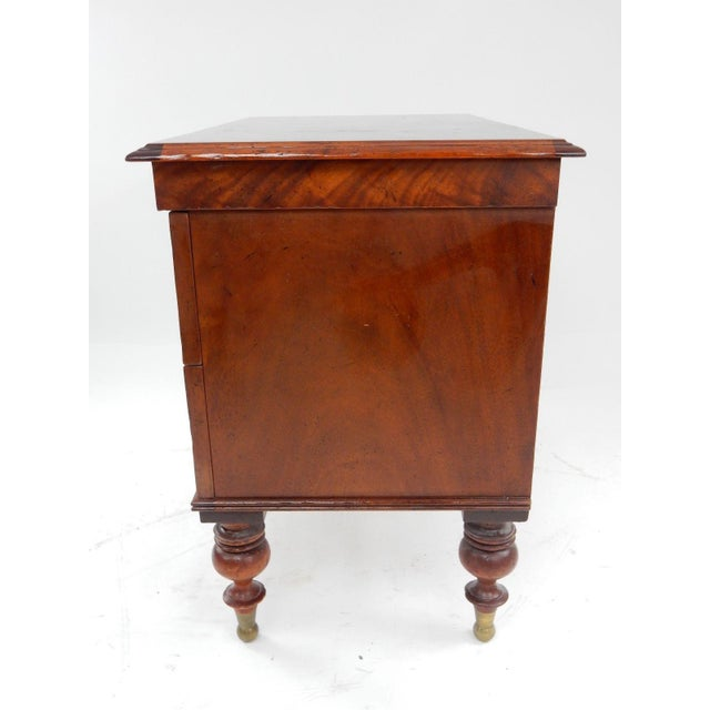 Milling Road by Baker West Indies Collection Mahogany End Table - Image 10 of 11