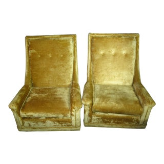Pearsall Style Kroehler Mid Century Lounge Chairs - a Pair For Sale