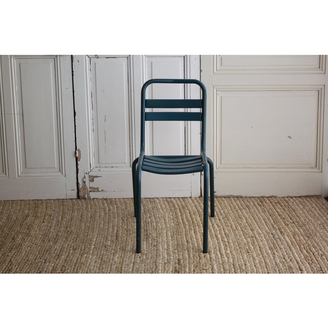 Vintage French Bistro Chairs - Image 4 of 7