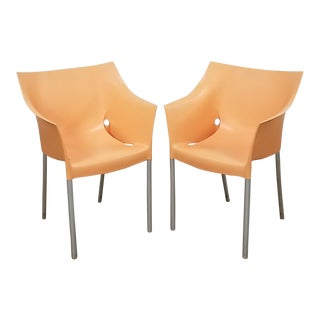 1990s Vintage Dr. No Kartell Starck Chairs- Set of 2 For Sale