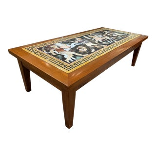 Roman Mosaic Coffee Table For Sale