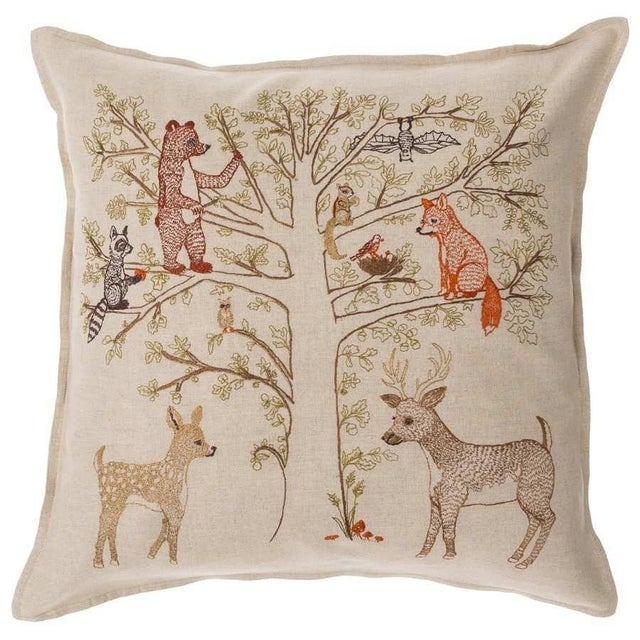 Woodland Living Tree Pillow - Image 3 of 3