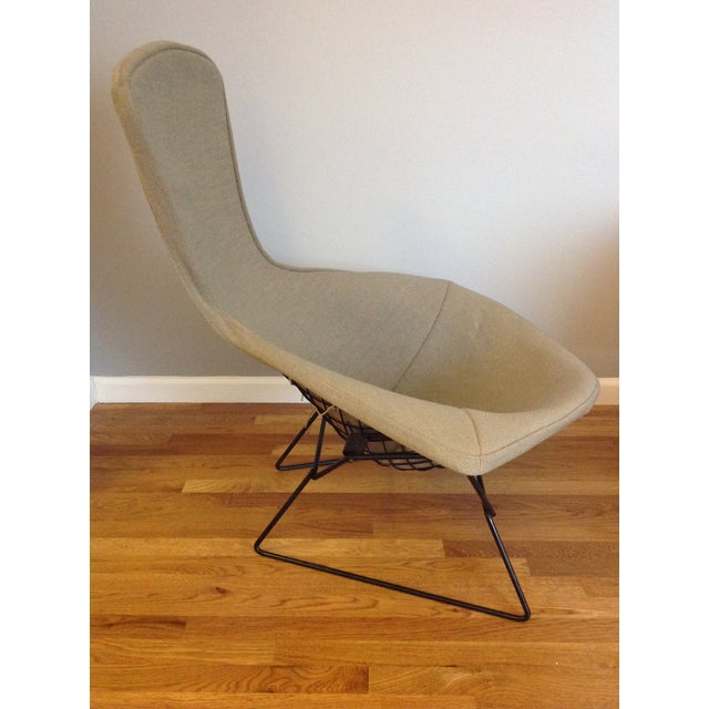 Fabric Harry Bertoia for Knoll Bird Chair & Ottoman For Sale - Image 7 of 10