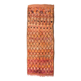 Vintage Moroccan Talsint Rug - 5′8″ × 14′3″ For Sale
