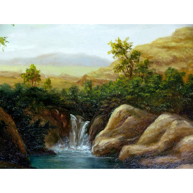 Landscape Oil Painting on Board - Image 5 of 10