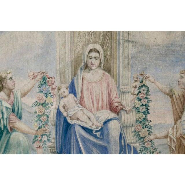Renaissance Antique Italian Sucre De Herb Tapestry For Sale - Image 3 of 9