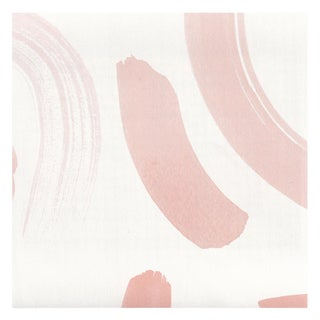 Pepper Hockney Pink Wallpaper - 15 yards For Sale