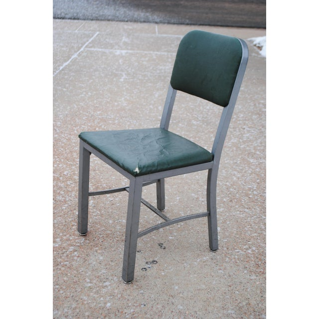 Here is a office side chair by Sturgis Posture Chair, Co (of Sturgis, Michigan) -- in line with other chairs of the era...