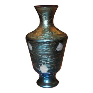 Durand Art Deco Era Hearts & Vines Vase