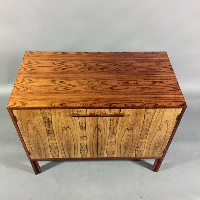 Mid-Century Modern Kai Kristiansen Rosewood Cabinet, Denmark 1960s For Sale - Image 3 of 11