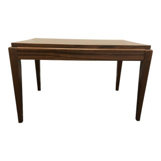 Vintage Mid Century Modern Small Brown Coffee Table For Sale