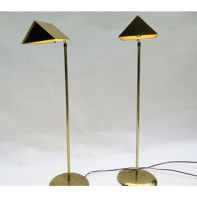 Cedric Hartman Vintage Cedric Hartman Style Floor Lamps - a Pair For Sale - Image 4 of 5