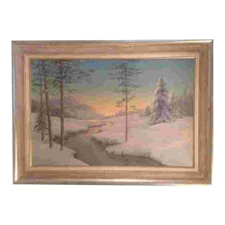 C. 1930 American Painting For Sale