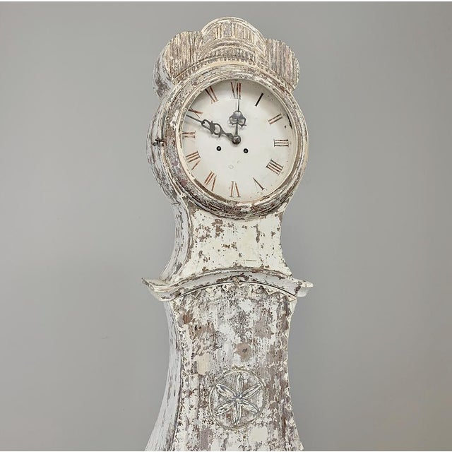 19th Century Swedish Long Case Clock For Sale - Image 4 of 13