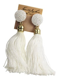 Image of White Earrings
