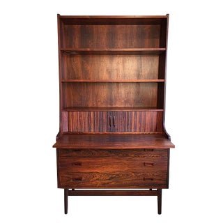 Vintage Rosewood Bureau Cabinet